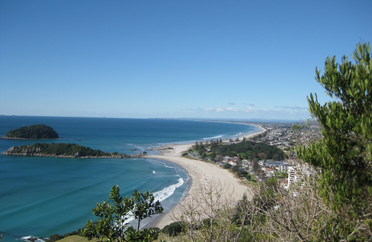 See Mount Maunganui in a Kiwi Road Trips Campervan